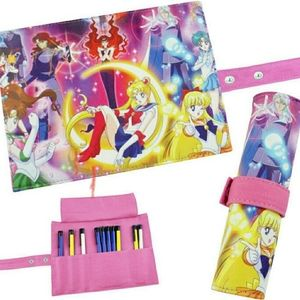 Sailor Moon 🌙 Pencil Case Make Up Scroll